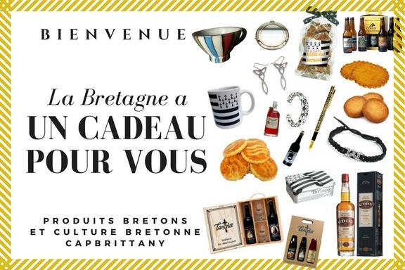 Cadeau produit breton pour offrir