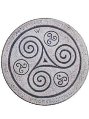 dessous de plat triskell en granit