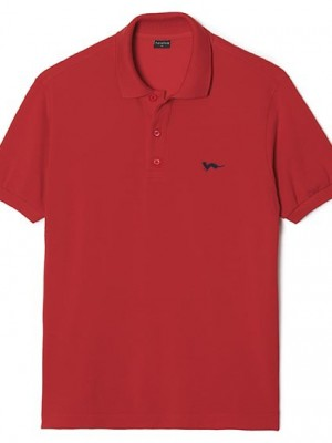 Polo Hermine Rouge Incandescent - Agalon
