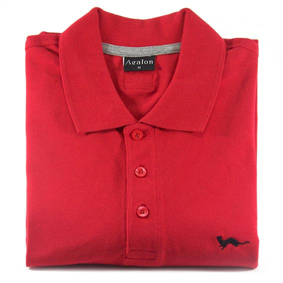 Polo Hermine Rouge Incandescent – Agalon fav