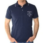 Polo Homme Eor – Marine – Stered