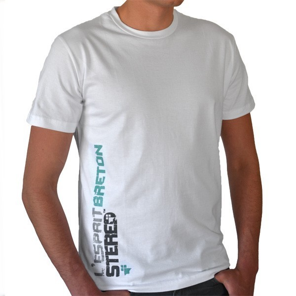 Tee-Shirt L'Esprit Breton later – blanc – Stered