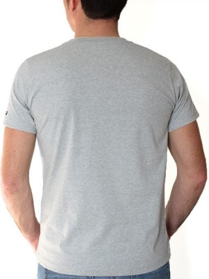 Tee-shirt L'Esprit Sauvage - Stered gris far