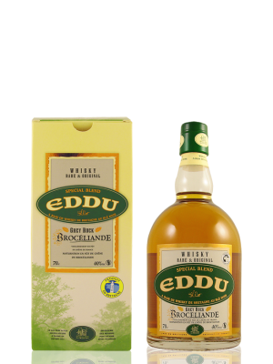 Whisky Eddu Grey Rock – 40 % « Brocéliande » Blend