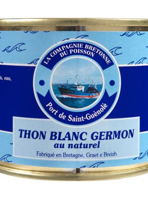 Thon blanc Germon au naturel
