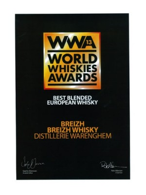 Breizh Whisky Blended Récompense – Warenghem