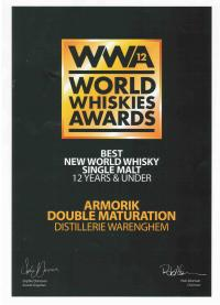 Whisky Armorik Double Maturation WWA - Warenghem