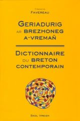 Dictionnaire du Breton contemporain