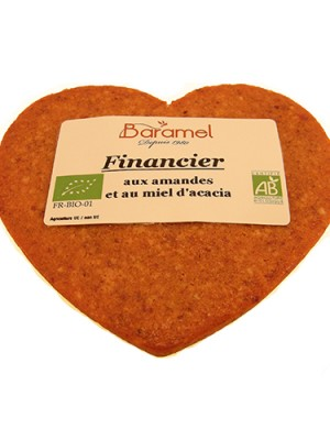 Financier aux amandes bio