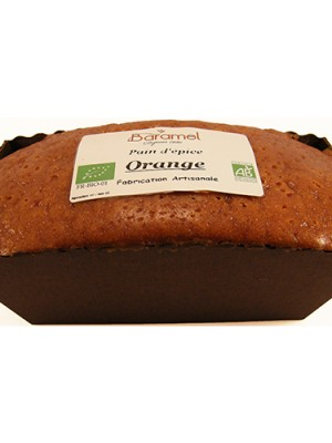 Pain d'épice bio orange 190g