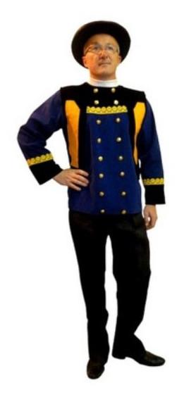 Costume breton homme achat