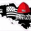 Autocollant Bretagne et bonnet rouge
